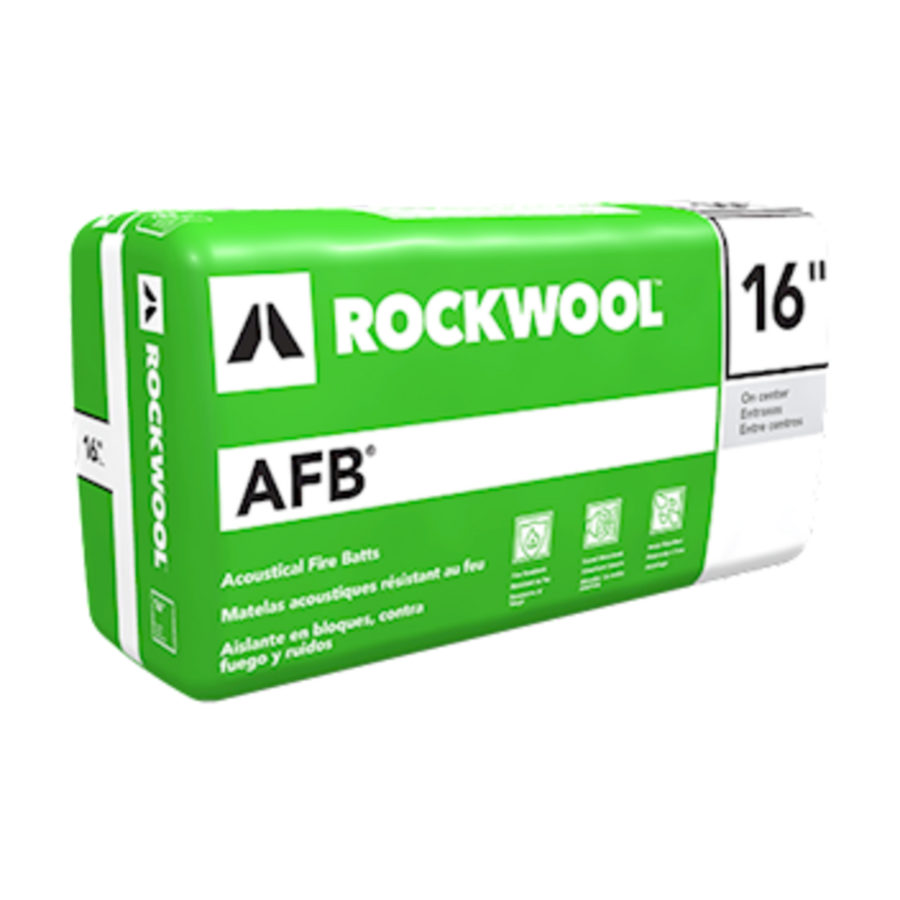 AFB® lightweight, semi-rigid batt insulation for steel stud interior wall and floor applications