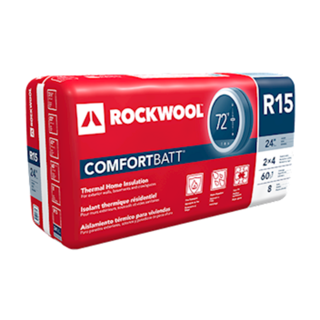 COMFORTBATT® semi-rigid batt insulation for thermal resistance in wood and steel framing