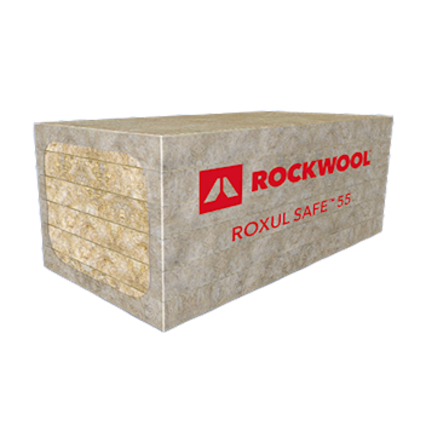 ROXUL SAFE™ 55 & 65 medium-density insulation products for interior and exterior firewall