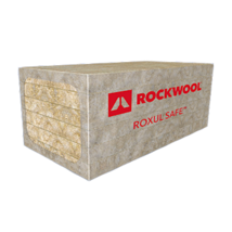 ROXUL SAFE™ lightweight, semi-rigid stone wool insulation for fire and sound