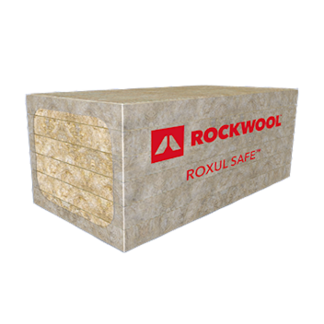 ROXUL SAFE™ 45 semi-rigid stone wool fire stopping insulation board
