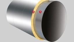 Systém PYROROCK pro kruhové potrubí