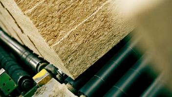 Production line, ROCKWOOL insulation