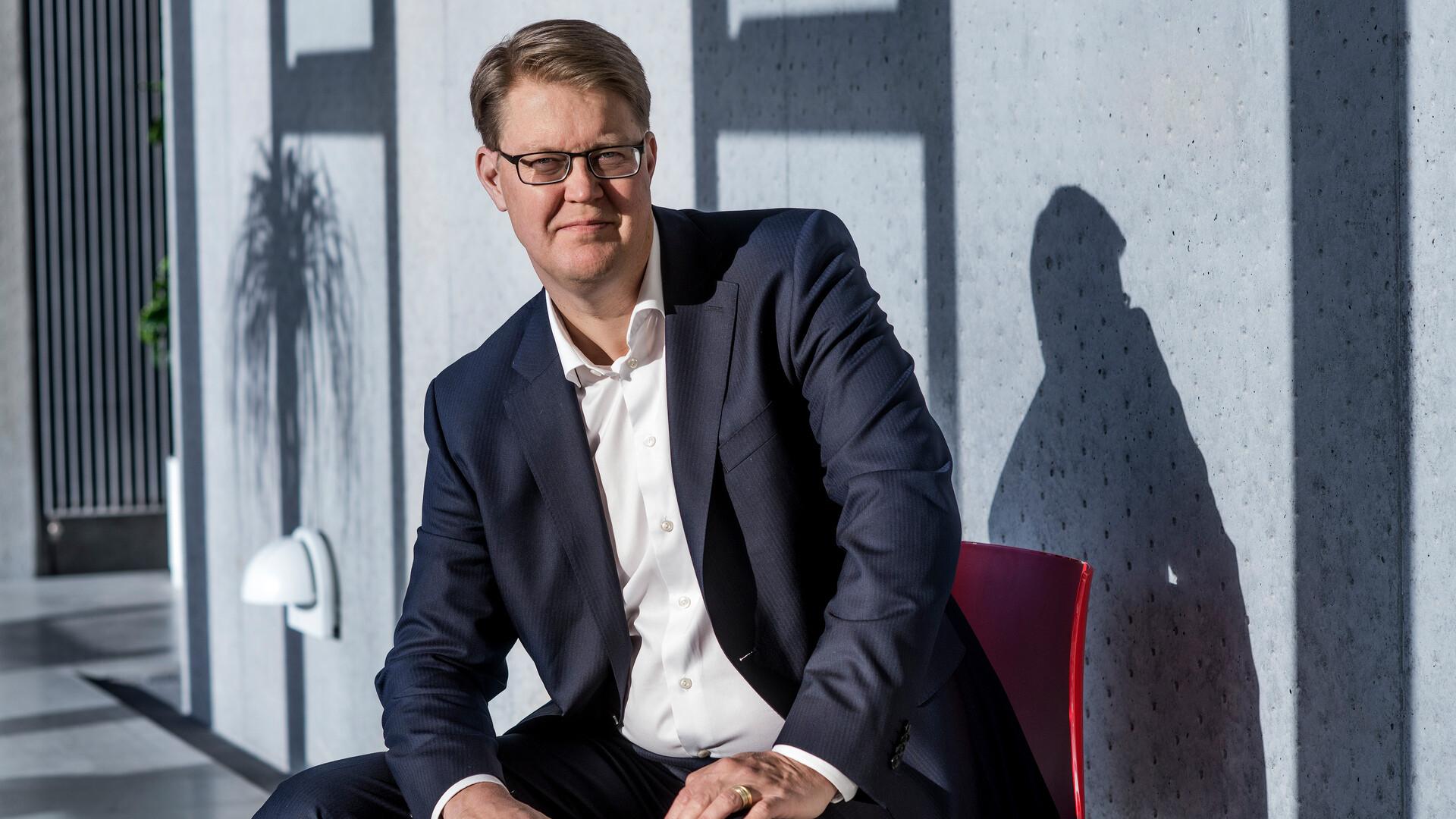 Jens Birgersson (9) CEO, GM