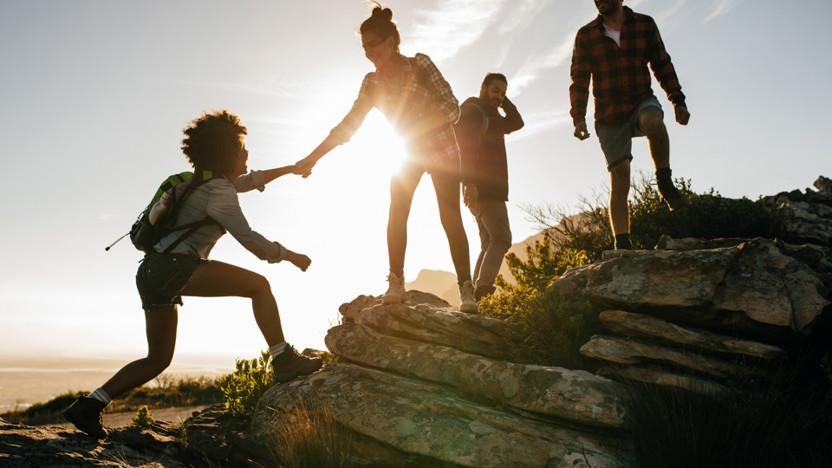 People, Outdoor, Hiking
