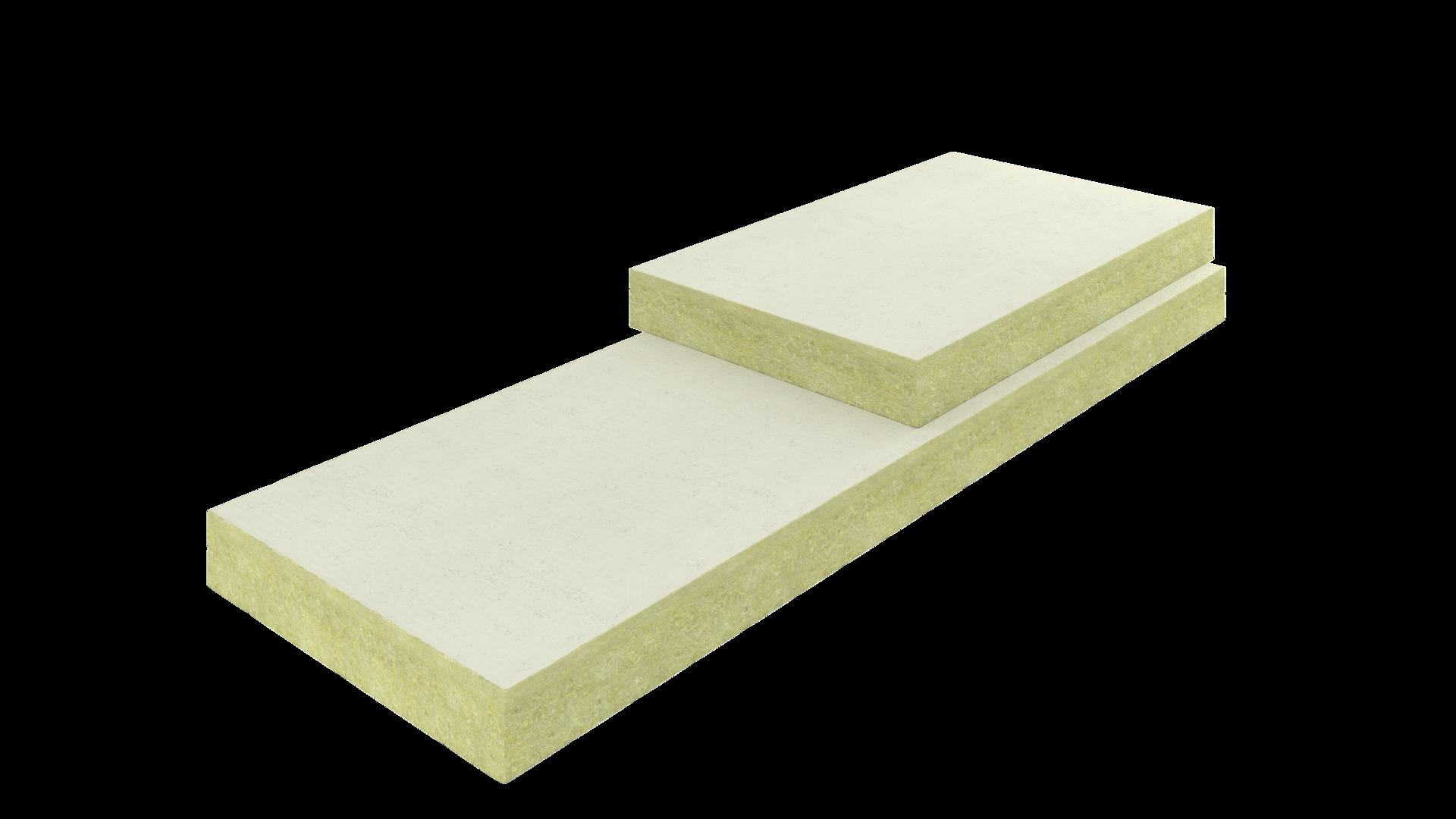 Dakisolatie voor het plat dak met dakisolatieplaten rockwool