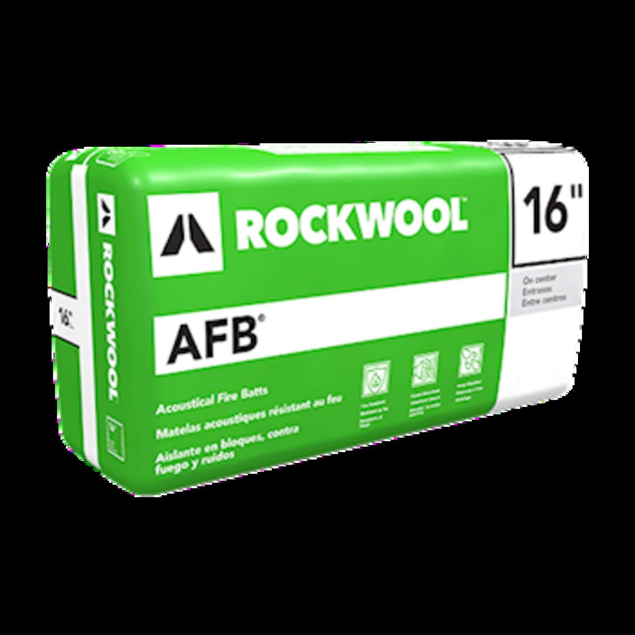 AFB® lightweight, semi-rigid batt insulation for steel stud interior wall and floor applications